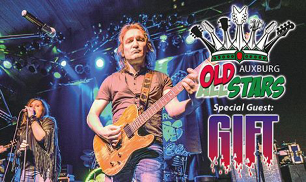 Auxburg Oldstars, special gueast GIFT - 3.10.2014 Kradhalle, Kulturpark West Augsburg